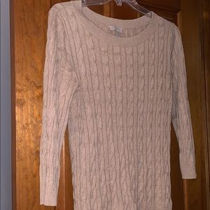 Sweater loft large 3/4 sleeve